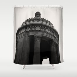 London House Hotel Chicago Architecture Shower Curtain