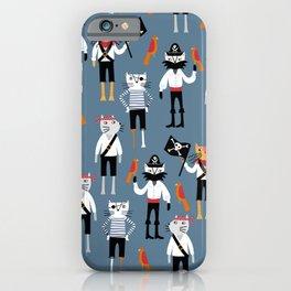 Pirate Cats iPhone Case