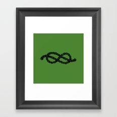 Common Rope Logo Framed Art Print