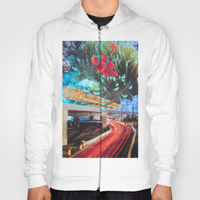 Water carries us from here Hoody