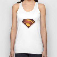 agents of shield Tank Tops featuring shield by hobbs
