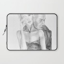 In his arms Laptop Sleeve