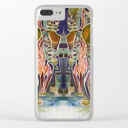 Unequal Light in the Bayou Clear iPhone Case