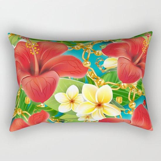 tropical color party  Rectangular Pillow