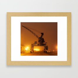 Crane III Framed Art Print