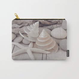 Beach Still Life With Shells And Starfish Carry-All Pouch