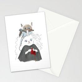 1015 Knitting Cat - Salon Stationery Cards