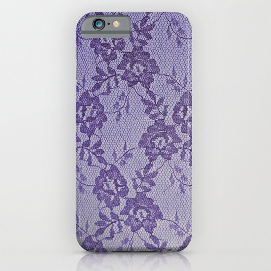 Purple lace iPhone & iPod Case