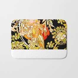 Marguerite's Bower, Mucha Bath Mat