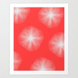 Coral Bust Art Print