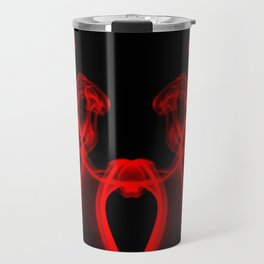 My Smoking Heart Red Travel Mug