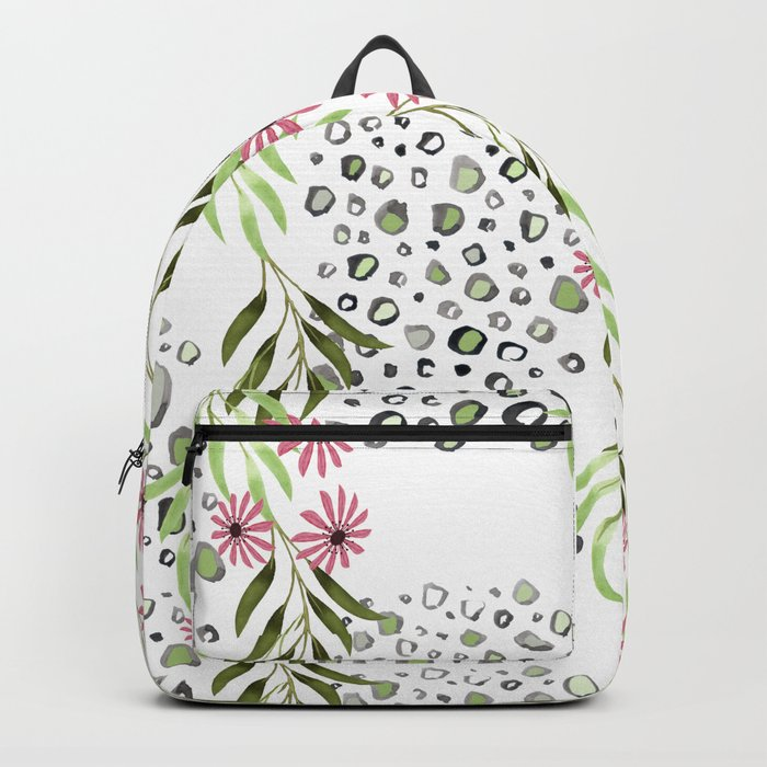 Floral pattern 3 Backpack