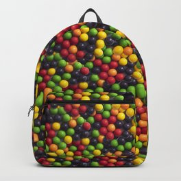 Jawbreaker Candy Photo Pattern Backpack