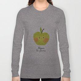 Alyson la pomme Long Sleeve T-shirt
