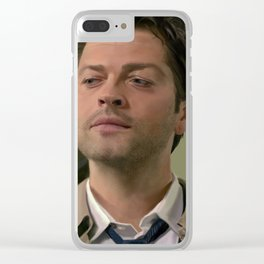 Castiel your God Clear iPhone Case