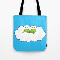 Sleep in Heavenly Peas! Tote Bag