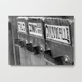 Ceramics - Chemicals Metal Print