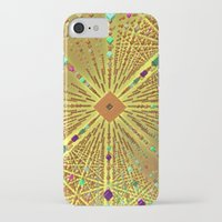 labyrinth iPhone & iPod Cases featuring Labyrinth by Fractalinear