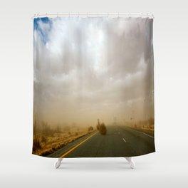 Dust Roll Shower Curtain