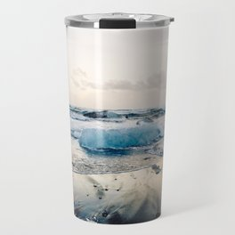 Diamond Beach, Iceland 2 #photography #iceland Travel Mug