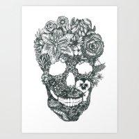 Skullduggery Art Print