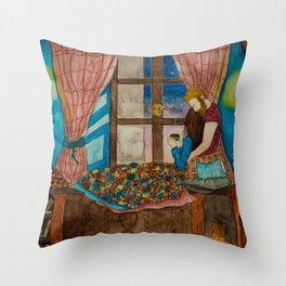 A Lovely Evening Throw Pillow