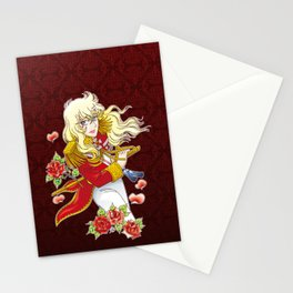 Oscar François de Jarjayes (Red edit.) Stationery Cards