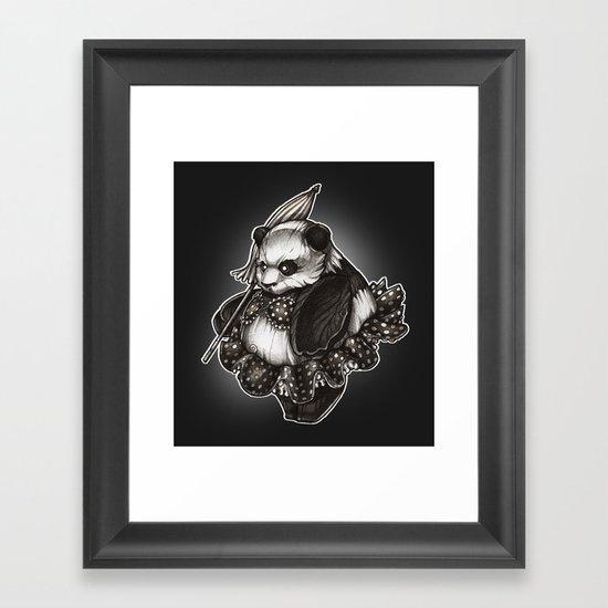 Panda's Day Off Framed Art Print