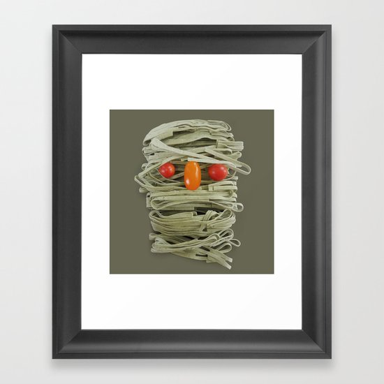 A Thing of the Pasta Framed Art Print