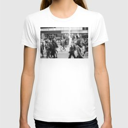 Young Woman At Refugee March 2013 T-shirt
