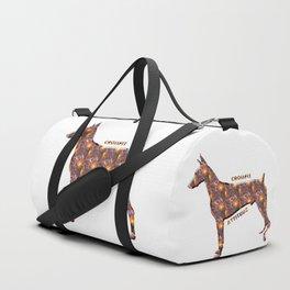 I love crossfit definition Duffle Bag