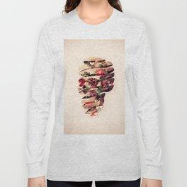 Peeled Skull Long Sleeve T-shirt