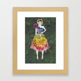 Collage Collection - Siobhan Framed Art Print