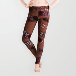 moving towards each other Leggings