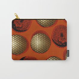 ORANGE RED GOLD Carry-All Pouch