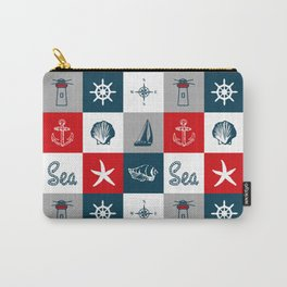 Nautical design 4 Carry-All Pouch