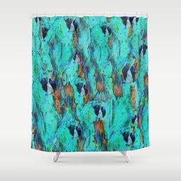 Papagaio Shower Curtain