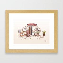 Caravan - Homes of the World Framed Art Print