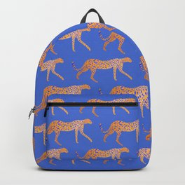 Leopard - Orange Backpack