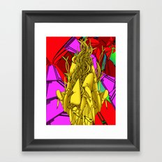 AUTOMATIC WORM 4 Framed Art Print