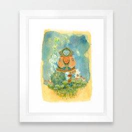 A Merry Coat Framed Art Print