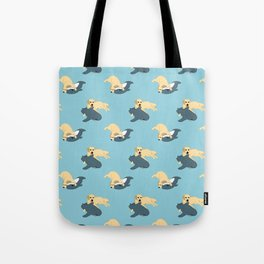 Waffles & Shark Tote Bag