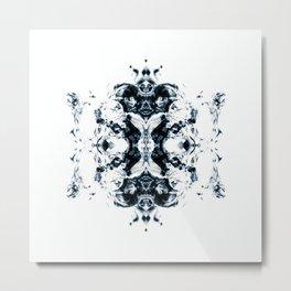 NOX BLUE I Metal Print