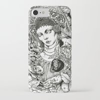 russian iPhone & iPod Cases featuring Russian Beauty  by rottenfantom