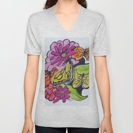 Art Doode No. 3 Unisex V-Neck