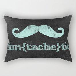 Fun(tache)tic Rectangular Pillow