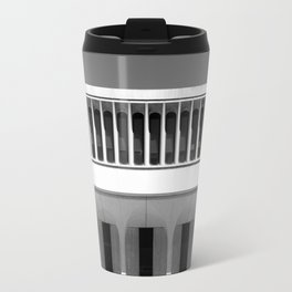 Architectural Notan - Robertson Hall, Princeton, NJ Travel Mug
