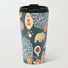 Bikes, bears and flowers Travel Mug