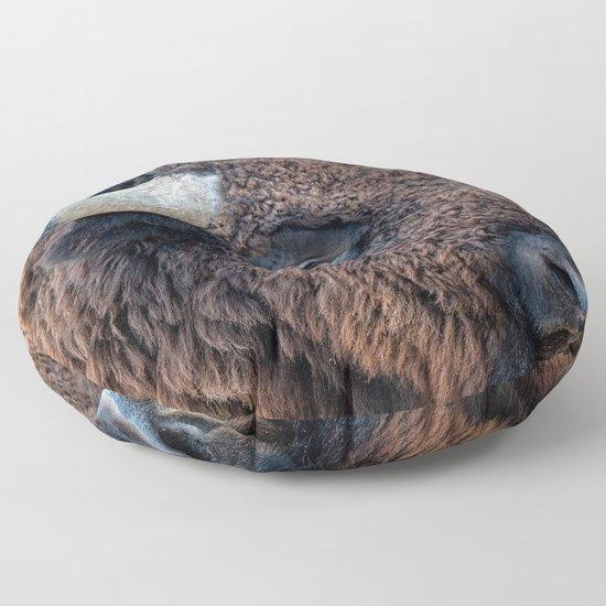 In The Presence Of Bison by olenaart