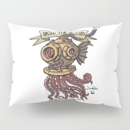 Octopus Diver Pillow Sham